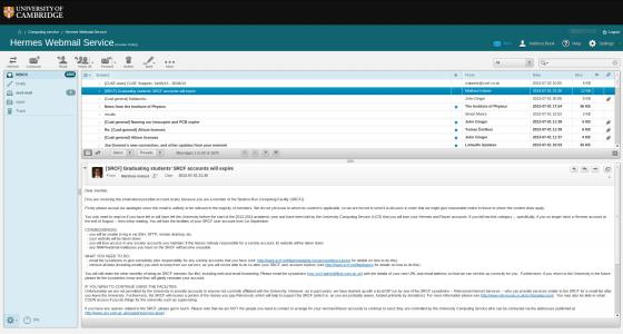 Webmail Pilot